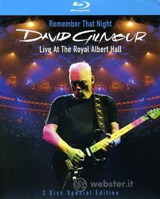 David Gilmour - Remember That Night: Live At The Royal Albert Hall (2 Blu-ray)