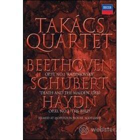 Takács Quartet. Beethoven, Schubert, Haydn