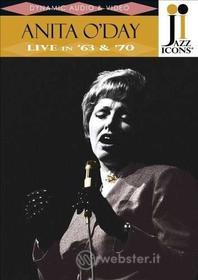 Anita O'Day. Live in 63' & '70. Jazz Icons