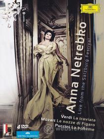 Anna Netrebko. Live From the Salzburg Festival (Cofanetto 4 dvd)