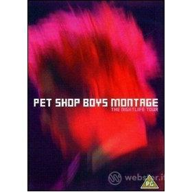Pet Shop Boys. Montage. The Nightlife Tour