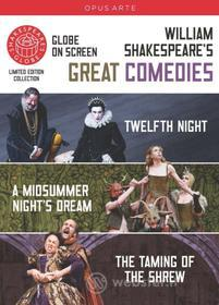 William Shakespeare - Great Comediae: The Taming Of The Shrew, Twelfth Night (3 Dvd)