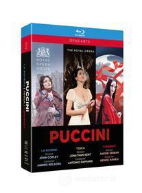 Giacomo Puccini - Box Set: Boheme, Tosca, Turandot (3 Blu-Ray) (Blu-ray)