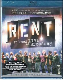 Rent - Filmed Live On Broadway (Blu-ray)