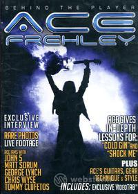 Ace Frehley. Behind the Player