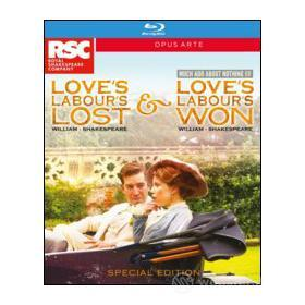 William Shakespeare. Love's Labour Lost & Loves Labour's Won (2 Blu-ray)