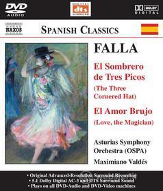 Manuel De Falla - El Amor Brujo, El Sombrero De Tres Picos, Danza From La Vida Breve