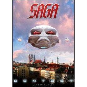 Saga. Contact. Live in Munich (2 Dvd)