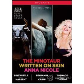 The Royal Opera. The Minotaur. Written On Skin. Anna Nicole (4 Blu-ray)