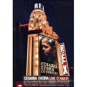 Cesaria Evora. Live D'Amor