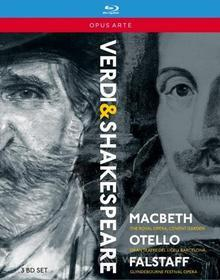 Giuseppe Verdi. Verdi & Shakespere: Macbeth, Otello, Falstaff (3 Blu-ray)