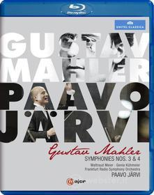 Gustav Mahler. Symphonies Nos. 3 & 4 (Blu-ray)