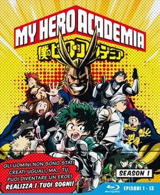 My Hero Academia - Stagione 01 (Eps 01-13) (Ltd Edition) (3 Blu-Ray) (Blu-ray)