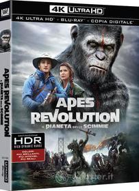 Apes Revolution - Il Pianeta Delle Scimmie (Blu-Ray 4K Ultra HD+Blu-Ray) (Blu-ray)