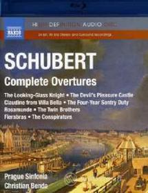 Franz Schubert - Complete Overtures (Blu-Ray Audio) (Blu-ray)