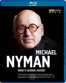 Michael Nyman. Make it Louder, Please! (Blu-ray)