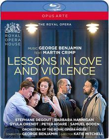 George Benjamim / Martin Crimp - Lessons In Love And Violence (Blu-ray)