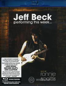 Jeff Beck. Performing This Week. Live at Ronnie Scott's (Blu-ray)