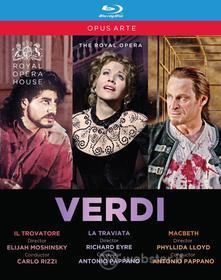 Giuseppe Verdi - The Royal Opera (3 Blu-Ray) (Blu-ray)