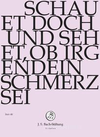 Johann Sebastian Bach  - Schauet Doch Und Sehet, Ob Irgendein Schmerz Sei