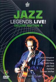 Jazz Legends Live - Deluxe Edition 4 (2 Dvd)