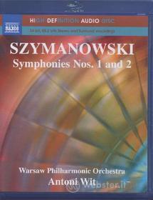 Karol Szymanowski - Symphonies Nr. 1/2 (Blu-Ray Audio) (Blu-ray)