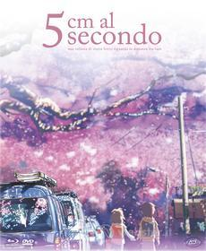 5 Cm Al Secondo (Limited Edition Digipack) (2 Blu-Ray+Dvd+Booklet+Cards+Poster) (Blu-ray)