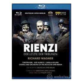 Richard Wagner. Rienzi, l'ultimo dei tribuni. Rienzi. Der Letzte Der Tribunen (Blu-ray)