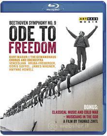 Ludwig Van Beethoven - Ode To Freedom - Sinfonia N.9 Corale - Masur Kurt Dir (Blu-ray)