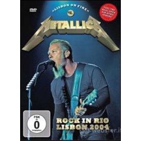 Metallica. Rock in Rio. Lisbon 2004