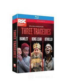 William Shakespeare - 3 Tragedies - Amleto, Otello, Re Lear (3 Blu-Ray) (Blu-ray)