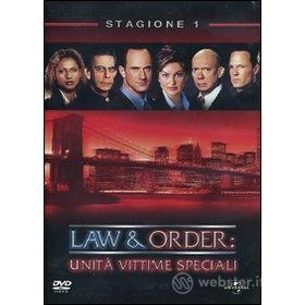 Law & Order. Unità vittime speciali. Stagione 1 (5 Dvd)