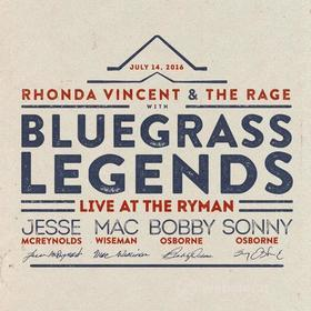 Rhonda Vincent With Bluegrass Legends - Live At The Ryman (Blu-ray)