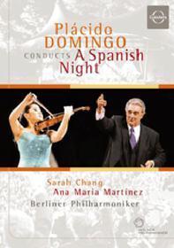 Placido Domingo. Placido Domingo Conducts a Spanish Night