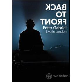 Peter Gabriel. Back to Front Live