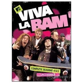 MTV. Viva la Bam. Stagioni 4 & 5 (3 Dvd)