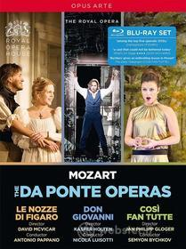 Wolfgang Amadeus Mozart - Da Ponte Opern (4 Blu-Ray) (Blu-ray)
