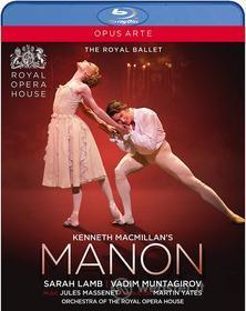 Jules Massenet - Kenneth Macmillan's Manon (Blu-ray)