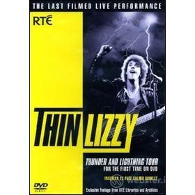 Thin Lizzy. Thunder and Lightning Tour