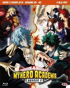 My Hero Academia - Stagione 03 The Complete Series (Eps 39-63) (4 Blu-Ray) (Blu-ray)