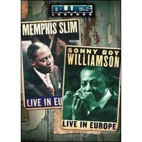 Memphis Slim And Sonny Boy Williamson. Blues Legends