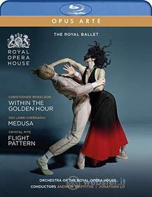 Royal Ballet - Within The Golden Hour / Medusa / Flight Pattern (2 Blu-Ray) (Blu-ray)