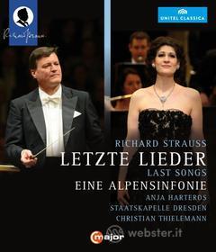 Richard Strauss. Vier letzte Lieder eine Alpensinfonie (Blu-ray)