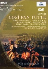Wolfgang Amadeus Mozart. Così fan tutte (2 Dvd)