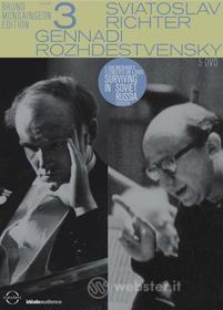 The Bruno Monsaingeon Edition. Vol. 3. Richter - Rozhdestvensky (5 Dvd)