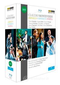 Claudio Monteverdi. Orfeo, L'incoronazione Di Poppea, Il Ritorno Di Ulisse (3 Blu-ray)