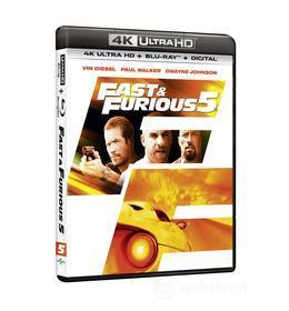 Fast And Furious 5 (Blu-Ray 4K Ultra HD+Blu-Ray) (2 Blu-ray)