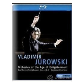 Vladimir Jurowski. Beethoven, Symphony No. 4, 7, Coriolan Overture (Blu-ray)