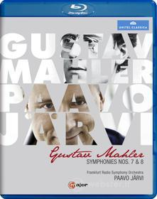 Gustav Mahler. Symphonies Nos. 7 & 8 (Blu-ray)