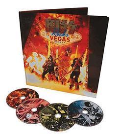 Kiss - Kiss Rocks Vegas (2 Cd+Dvd+Blu-Ray+Libro)